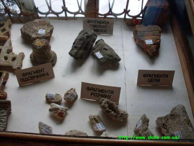 Фрагменти предметів