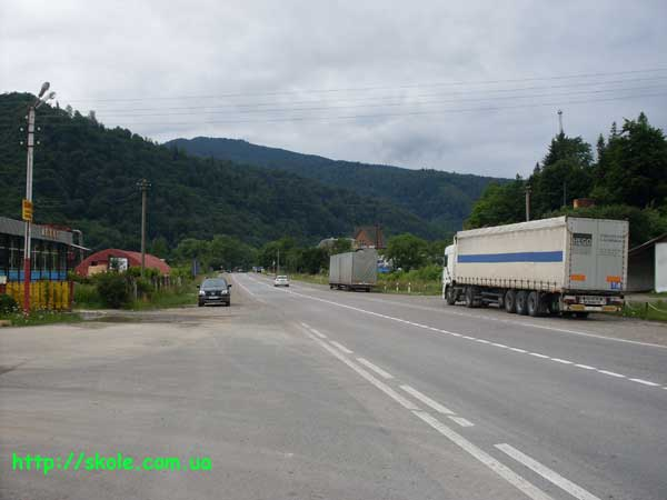 Автотраса в Сколе