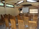 База відпочинку Царинка - конференц зал. Корпоратив - Рожанка