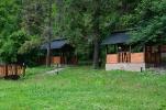 База відпочинку Царинка - альтанки влітку. Відпочинок - Рожанка